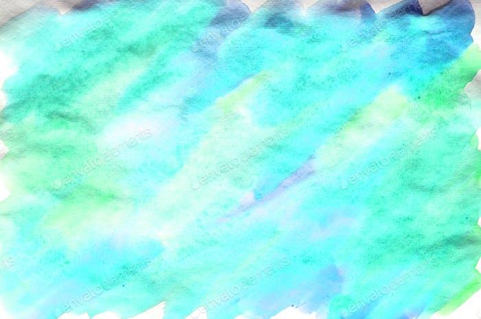 Watercolor wet background