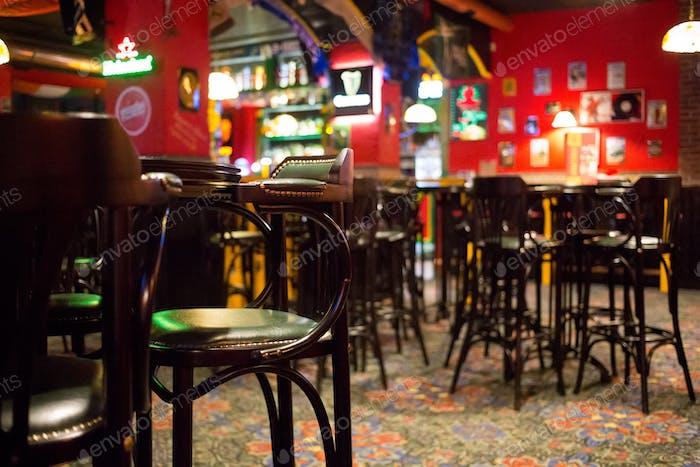 Habitación interior pub