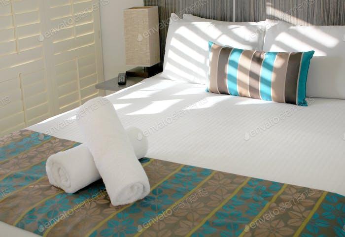 Modernes Hotel-Schlafzimmer-
