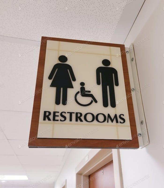 Restrooms!