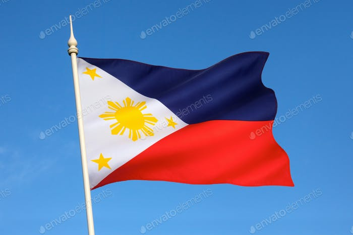 National flag of the Philippines - A unique feature of this flag is its ability to indicate a state
