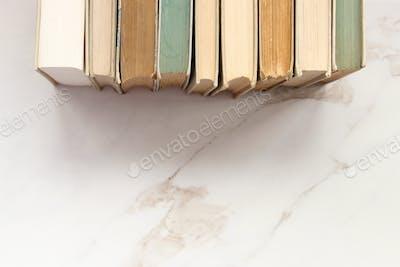 Book stack border