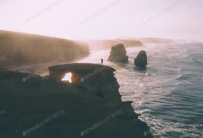 Wandering around one of the Wonders of the World