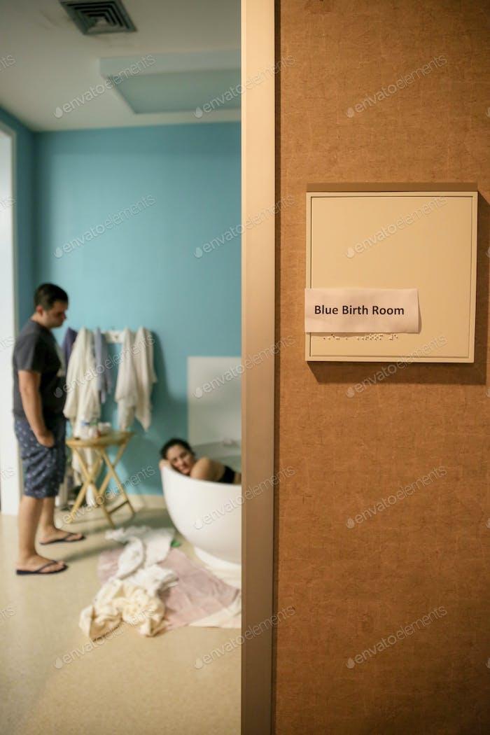 Birth room