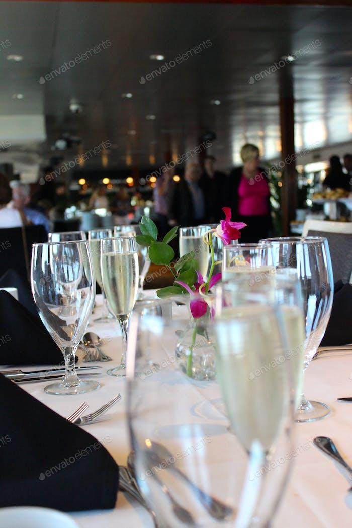 Champagne Feier