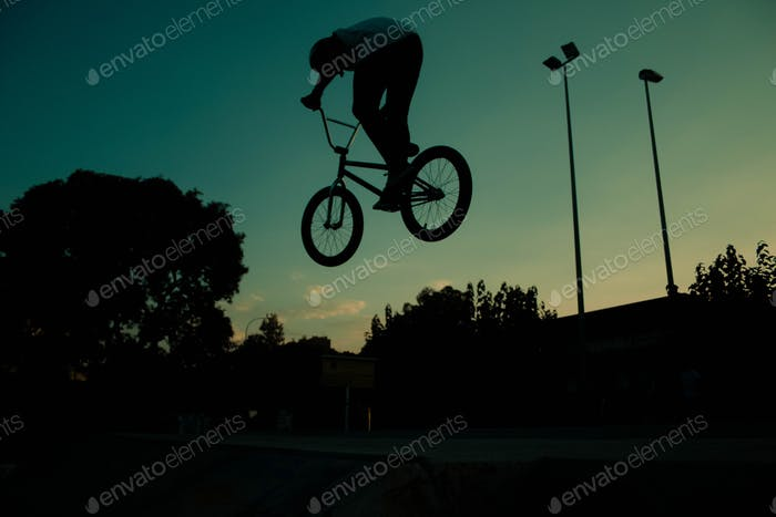 Atardecer en skatepark de Murcia
