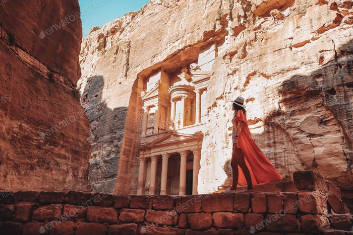 When in Petra ....