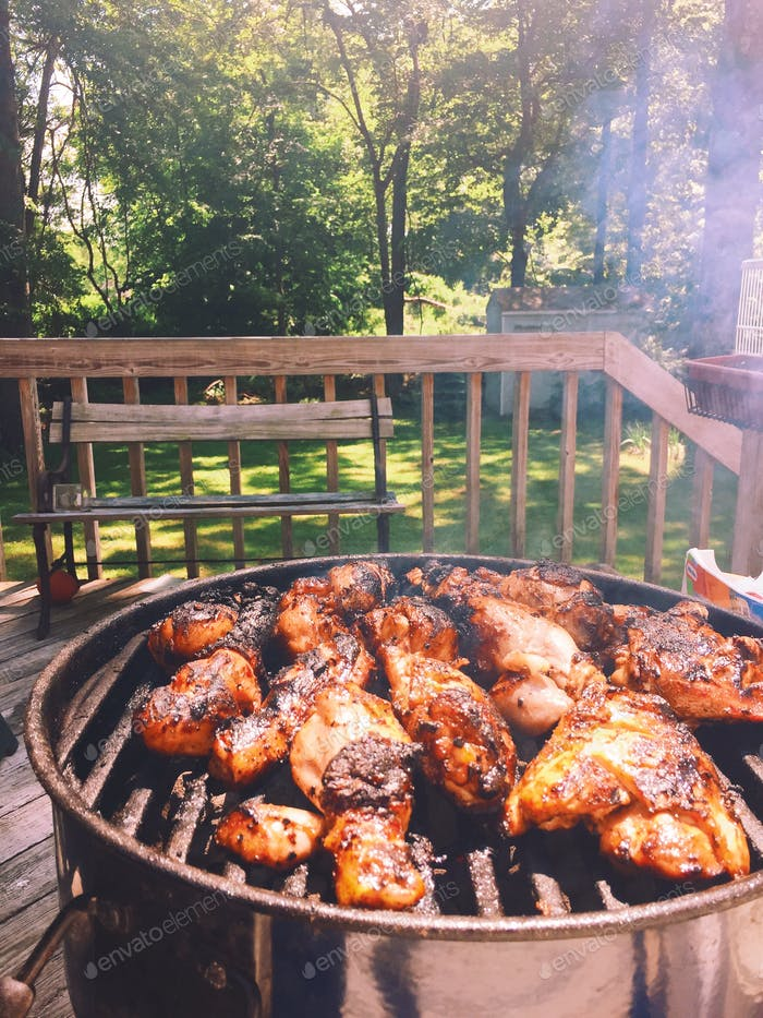 BBQ Grilling - Summer food style