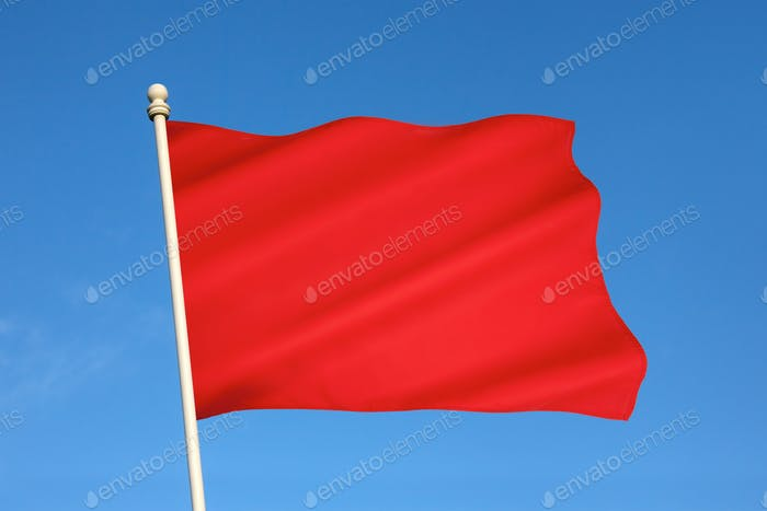 The Red Flag of DANGER