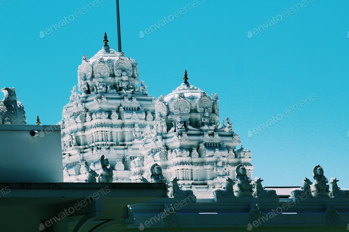 Hindu temple view #architecture