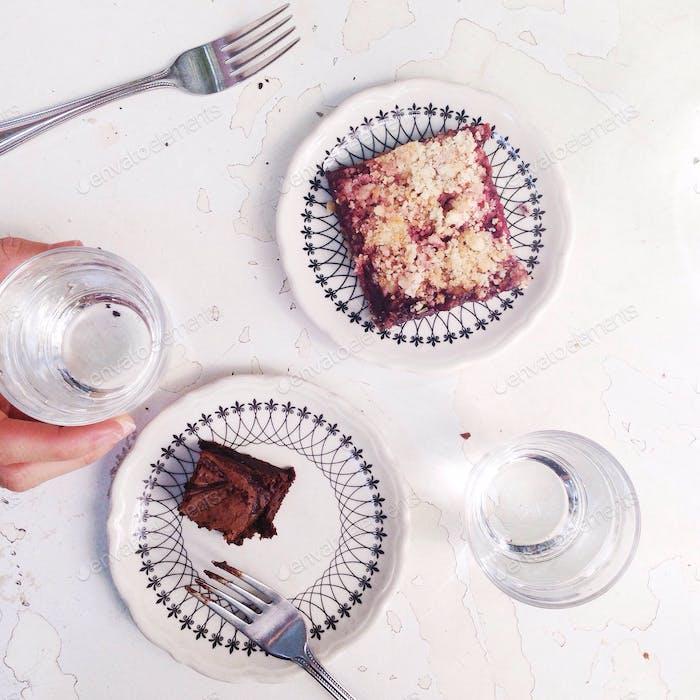But first, dessert