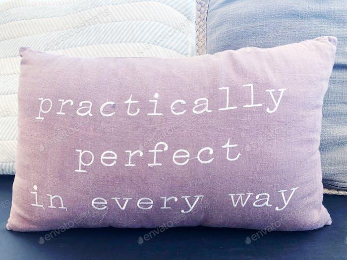 Praktisch perfekt in jeder Hinsicht