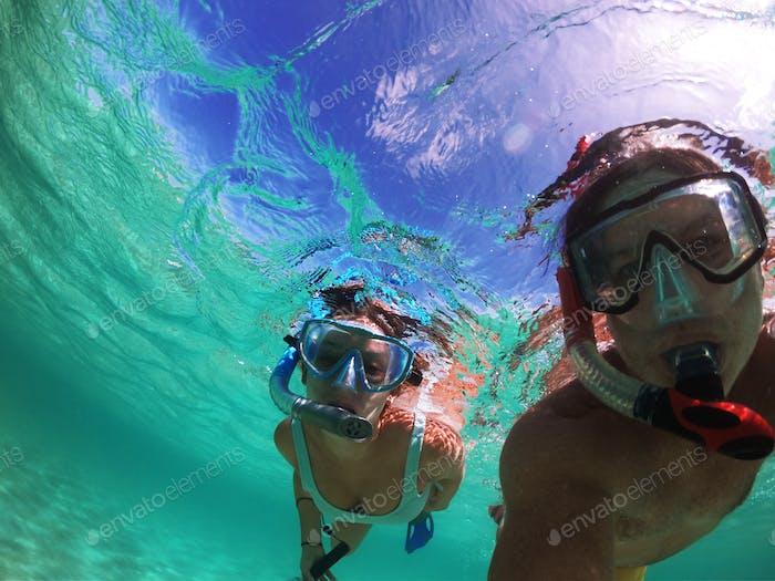Paradise under the Caribbean seas...