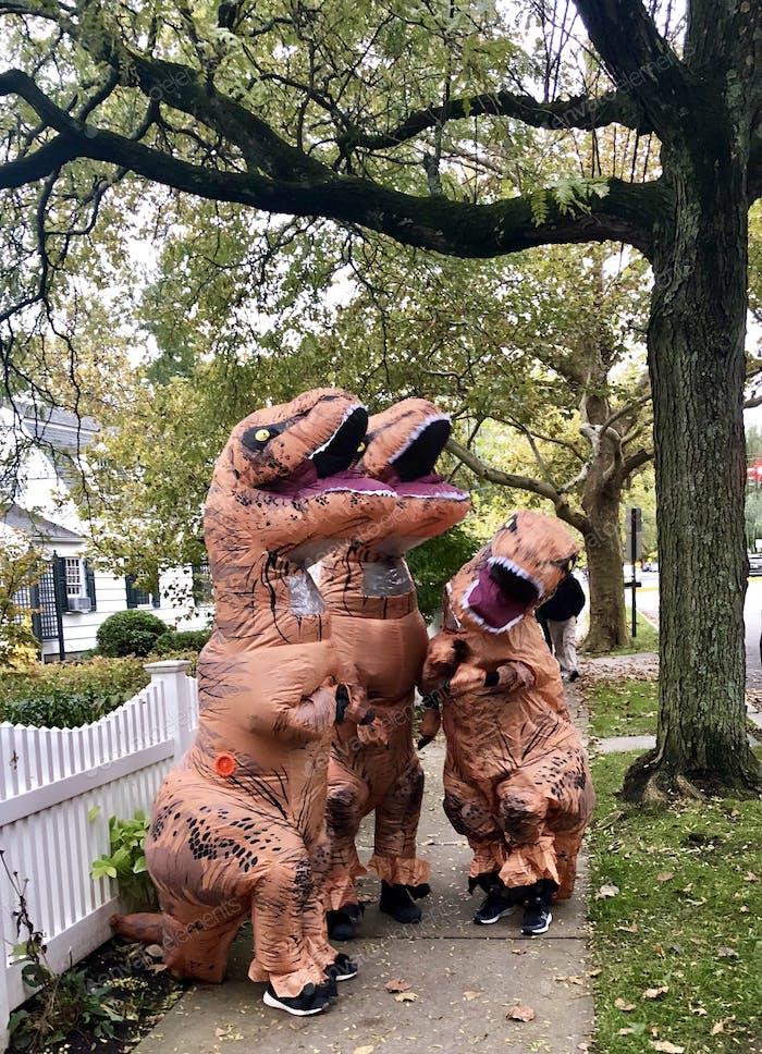 Halloween Dinosaurs