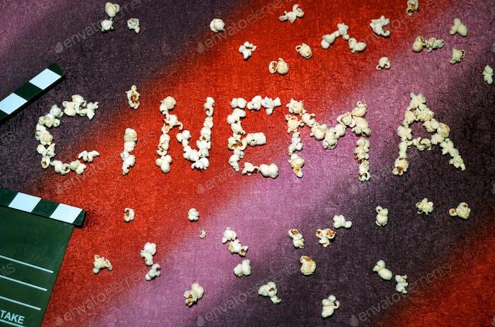 Cinema and popcorns