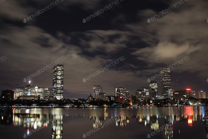 Boston ,MA skyline