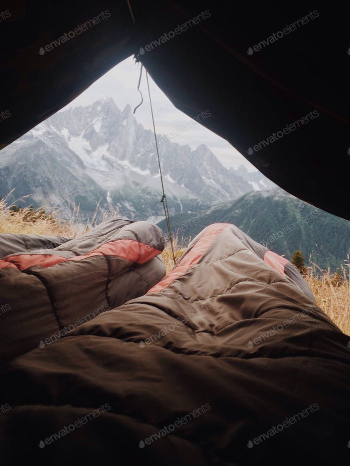 Waking up with a view!
