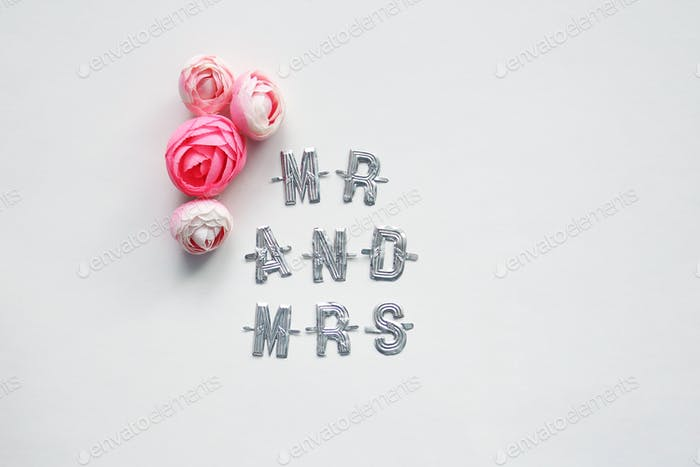 Mr. and Mrs. concept