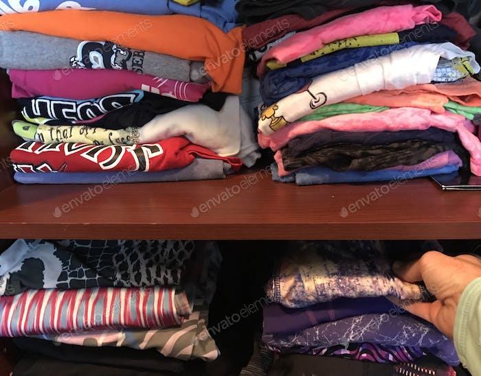 Organizing my closet
