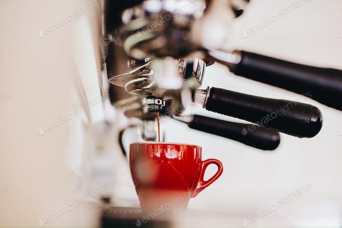 Espresso drip.