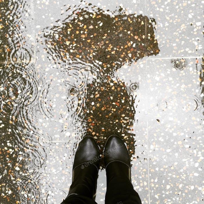 Raindrops ...