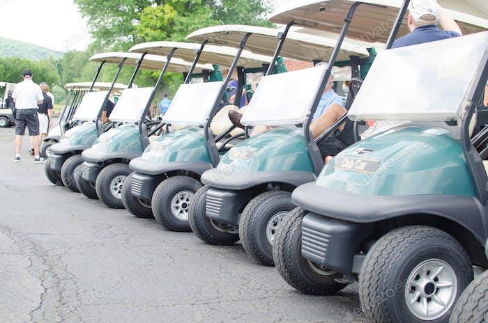 Summer golf tournament fundraiser