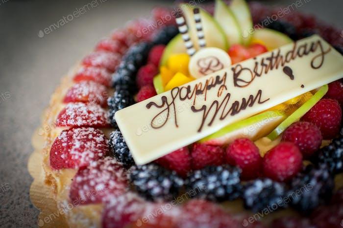 Happy Birthday Mom birthday cake