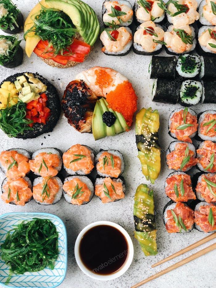 Japanese food sushi fish foodporn