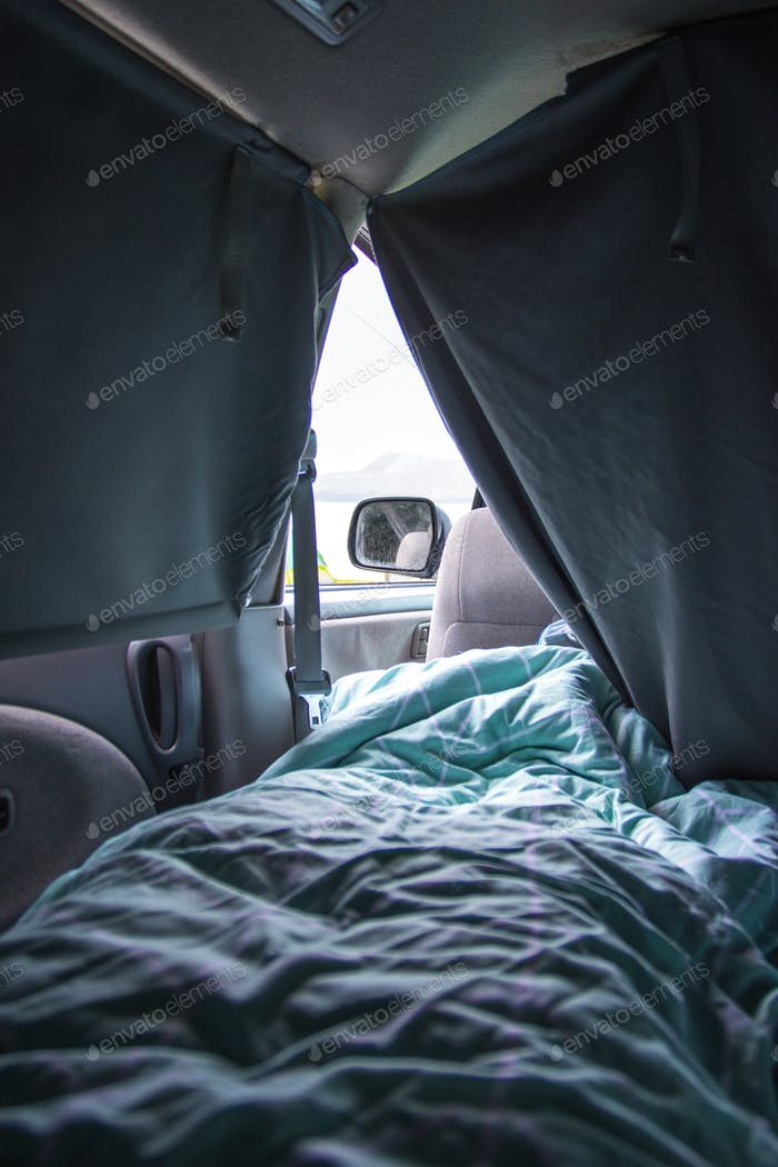 Nominated - Early morning routine, waking up in a campervan, enjoying the view