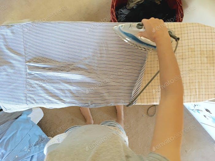 Ironing - laundry