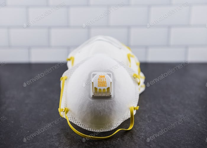 N-95 Masks with respirators.