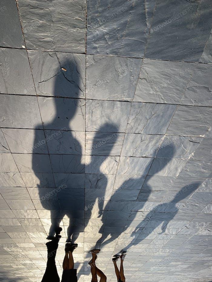 Caminadores de la sombra
