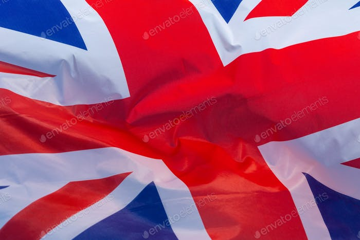 National flag of Great Britain - United Kingdom