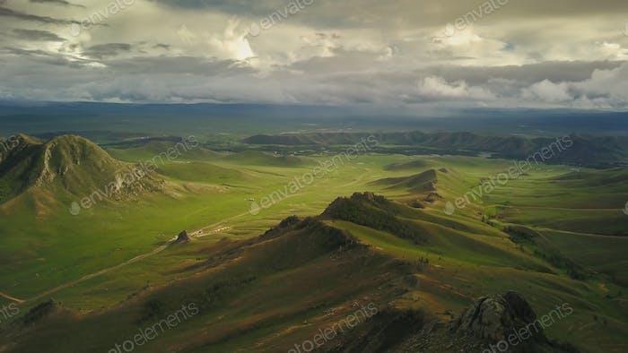 Nationalpark Terelj in der Mongolei!