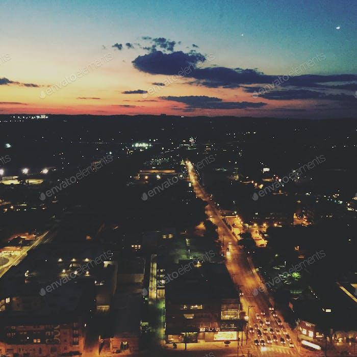 Night city views