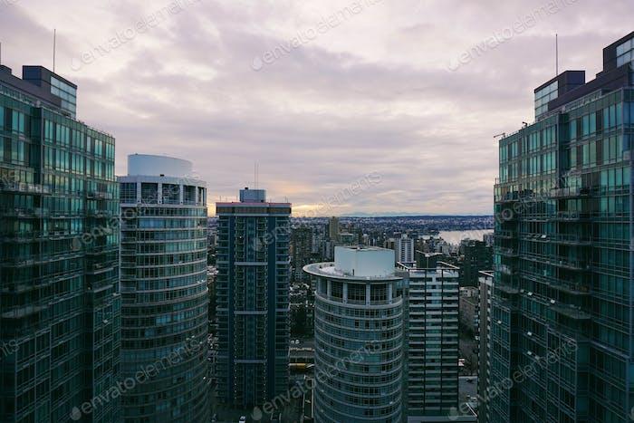 Vancouver, BC cityscape