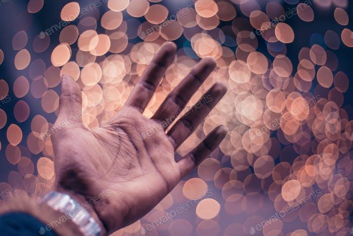Dreamy hand