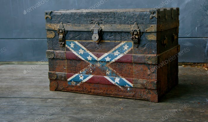 Old vintage chest
