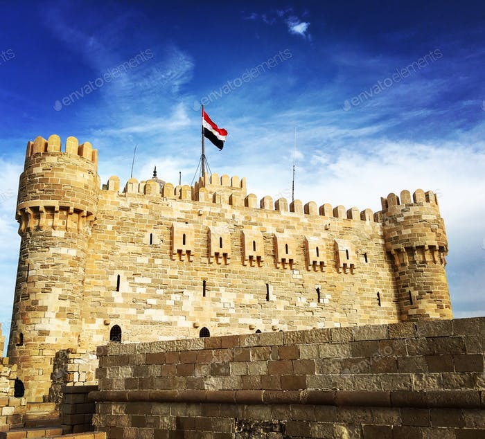 Qaitebai Castel, Alexandria - Egypt