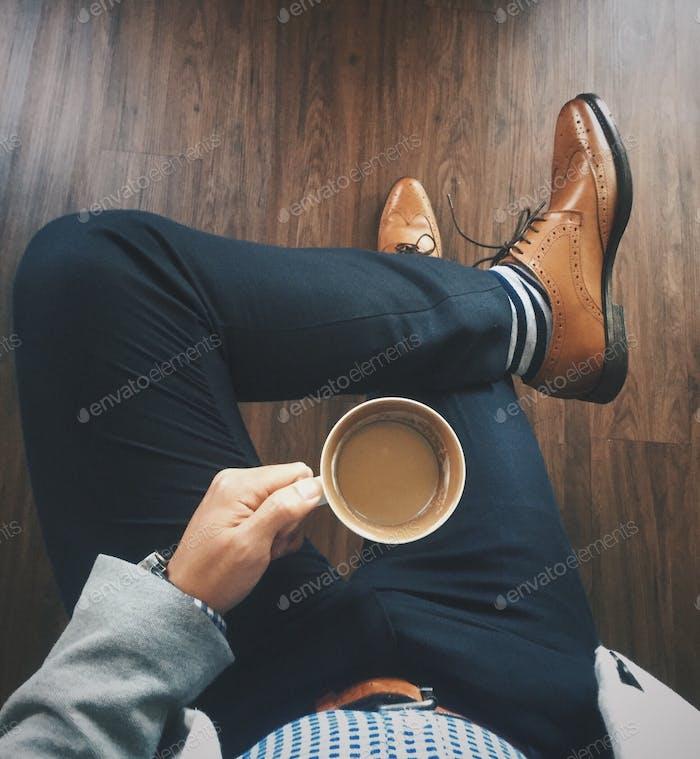 Coffee before work