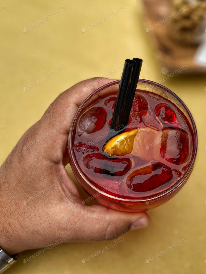 Negroni from above