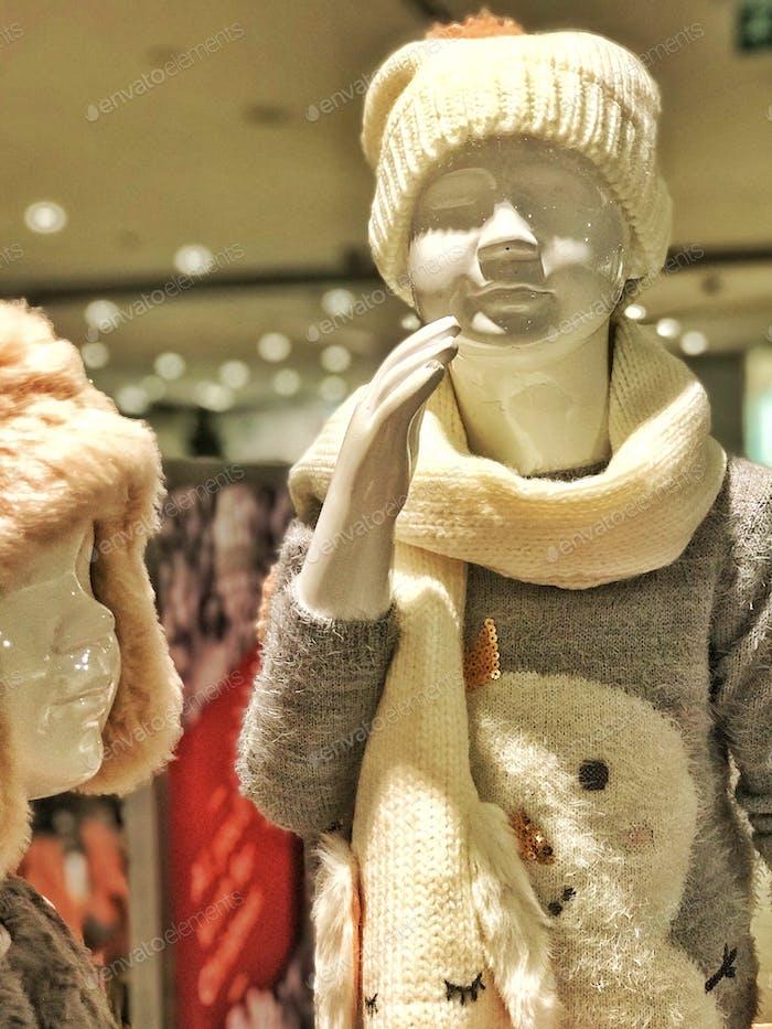 Winter Mannequins