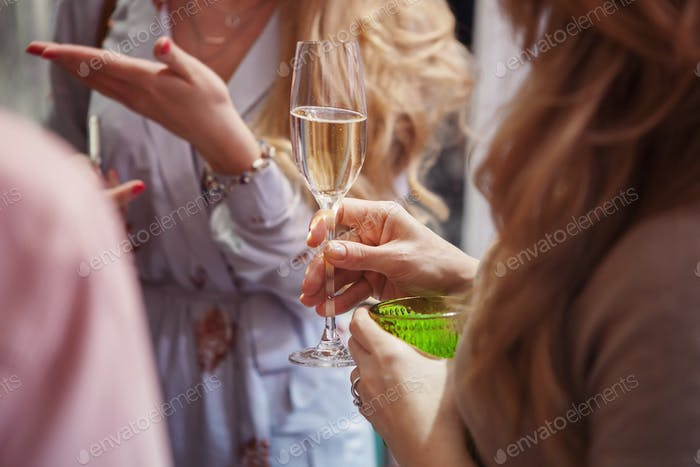 Champagner Toast