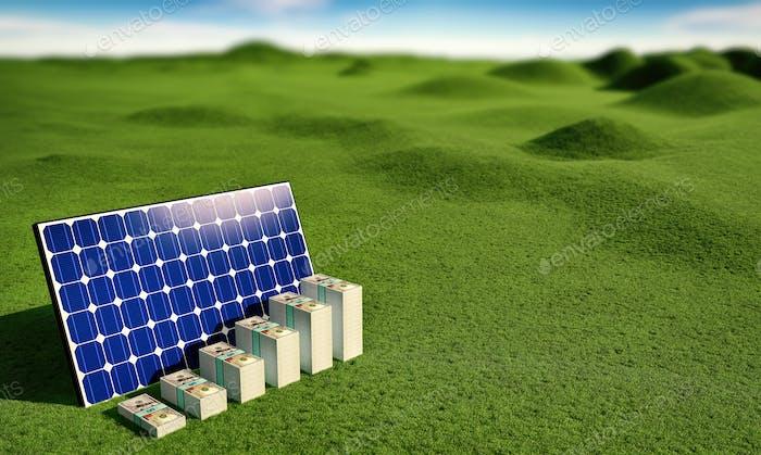 Solar Panel - earn money from renewable energy