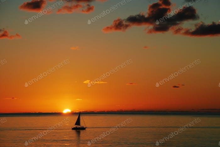Caribbean sunset (VSCO C1 +5)