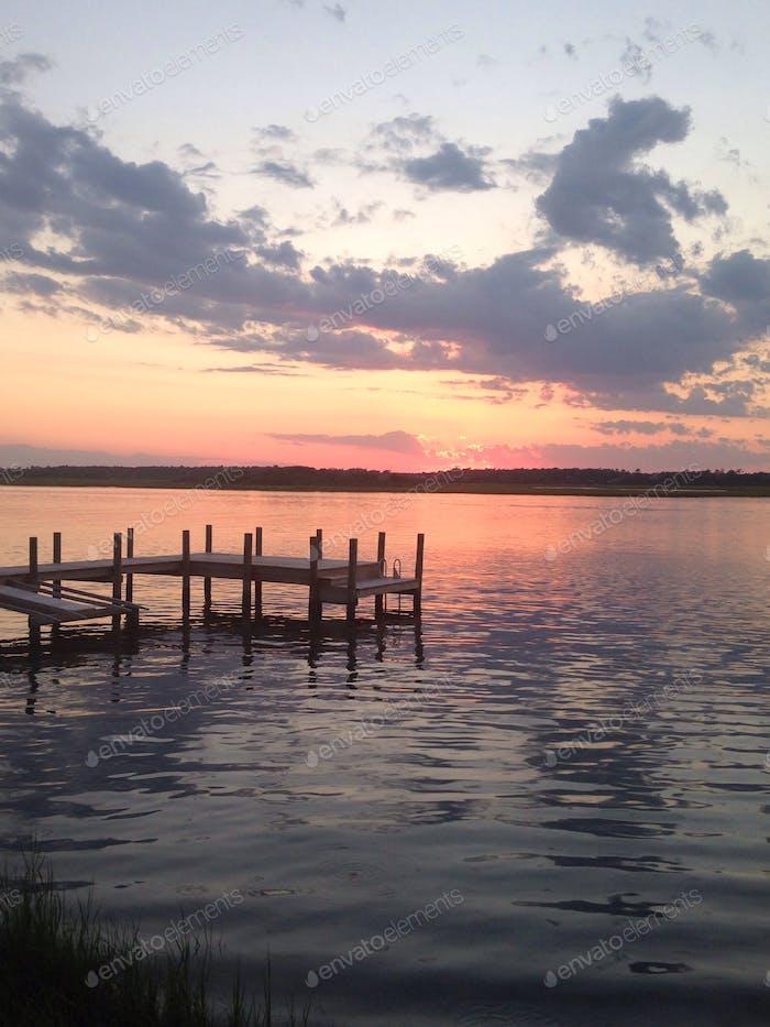 Sunset on the Inter Coastal Waterway