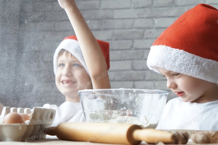 Kids fun with flour  Nominated!