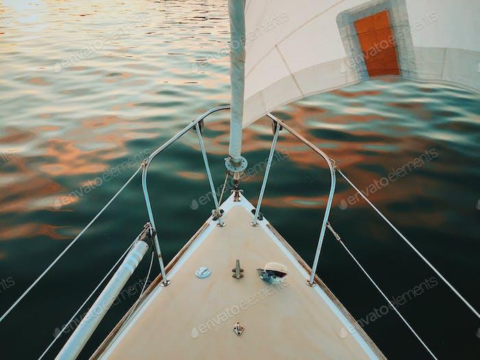 Segeln durch Maine Gewässer