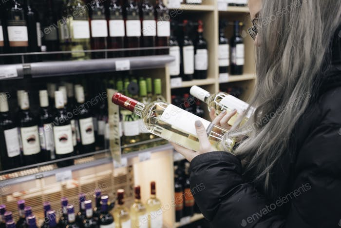 Buying wine