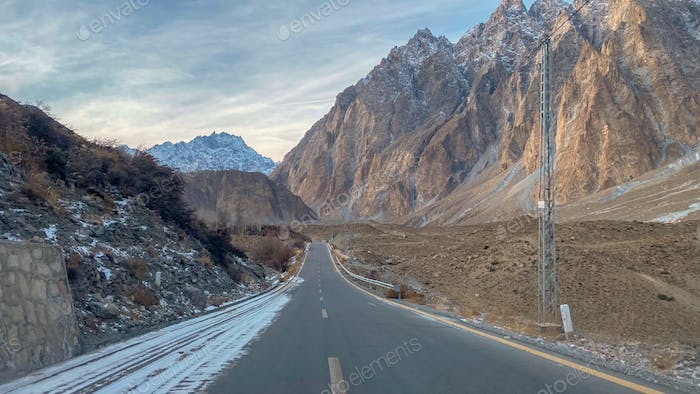 Hunza Valley, Northern Pakistan  December 2019